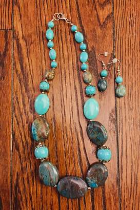 Love's Hangover Creations Turquoise Necklace Set
