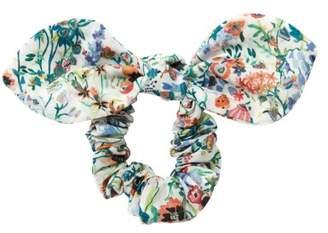 Bonton Floral Liberty Bow Scrunchie