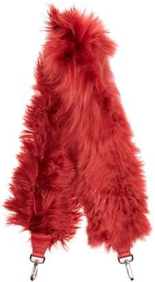 Fendi Strap You alpaca-fur bag strap