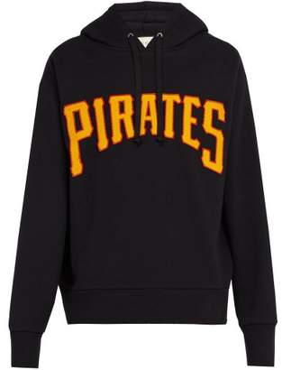 Gucci Pittsburgh Pirates Cotton Hooded Sweatshirt - Mens - Black
