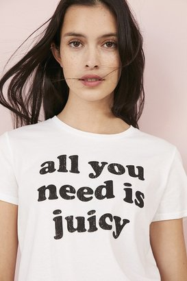 Juicy Couture For UO All You Need Cropped Tee $39 thestylecure.com