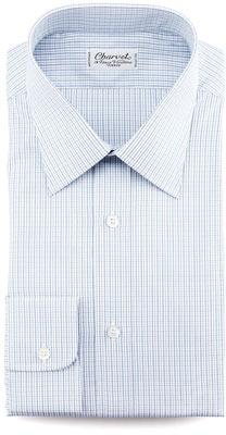 Charvet Mini-Check Dress Shirt