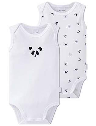 Schiesser Baby Multi-Pack 2pack Bodies 0/0 Footies (Size: 0) Pack of 2
