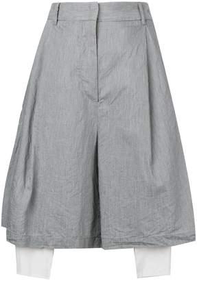 Maison Flaneur oversized tailored shorts