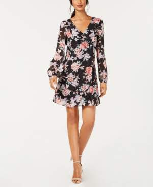 INC International Concepts I.n.c. Floral Bow-Back Dress, Created for Macy's