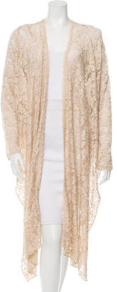 Casadei Open Front Lace Cardigan $115 thestylecure.com
