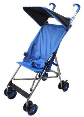 Parker Wonder Buggy Umbrella Stroller With Canopy - Solid Royal Blue