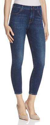 J Brand Alana High Rise Crop Jeans in Mesmeric