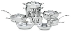 Cuisinart Cuisinart French Classic Stainless Steel Cookware 13-Piece Set