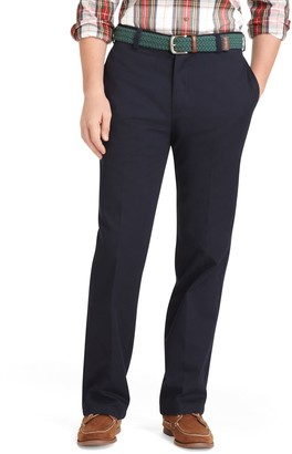 Izod Men's American Chino Classic-Fit Wrinkle-Free Flat-Front Pants