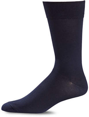Black Brown 1826 Classic Crew Socks