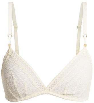 Clearance Fast Delivery Get Authentic Online Willow Wandering Stretch And Leavers Lace Soft-cup Triangle Bra - Cream Stella McCartney jNJhYWD