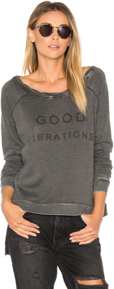 The Laundry Room Good Vibrations Cozy Crew $88 thestylecure.com