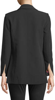 Nanette Lepore Nanette Freedom Open-Front Stretch Blazer Jacket