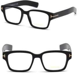Tom Ford 52MM Ophtalmic Square Optical Glasses
