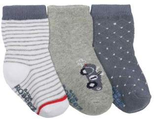 Infant Boys' Road Trip Sock 3 Pack (9 Pairs).