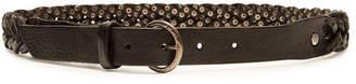 Golden Goose Tube Leather Belt