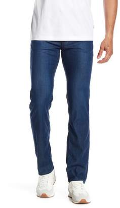 "BOSS Maine Regular Fit Straight Leg Jeans - 30-34"" Inseam"