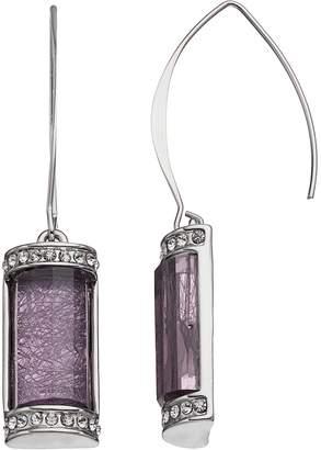 JLO by Jennifer Lopez Rectangular Drop Earrings