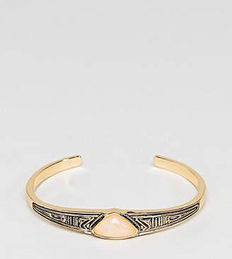 Asos Engraved Stone Bracelet