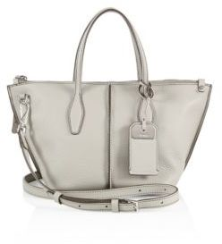 Tod's Joy Mini Leather Zip Tote $1,265 thestylecure.com