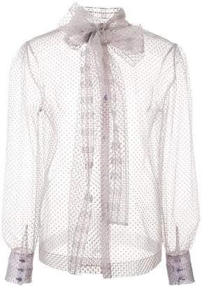 c89f4a1d5945c ALEXACHUNG Alexa Chung sheer tulle blouse