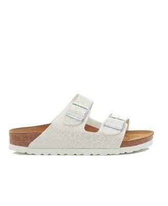 2d9c2f7a07cb Birkenstock Arizona Narrow Two Strap Sandals Colour  WHITE