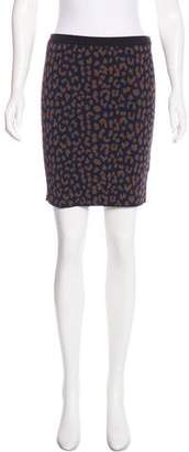 Rachel Roy Printed Mini Skirt