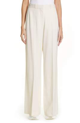 Stella McCartney Wide Leg Wool Pants