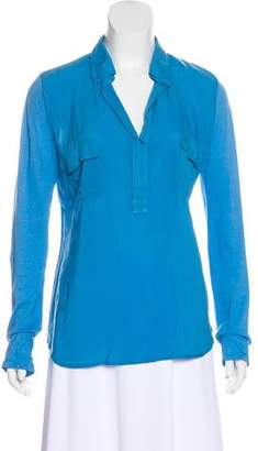 Splendid Jersey Long Sleeve Top