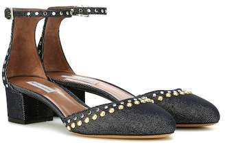 Tabitha Simmons Anais Studs denim pumps