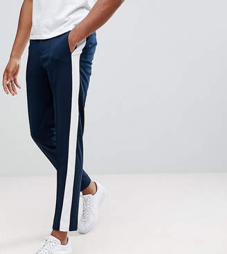 Selected Tapered Pants With Stripe