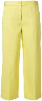 Moschino wide-leg cropped trousers