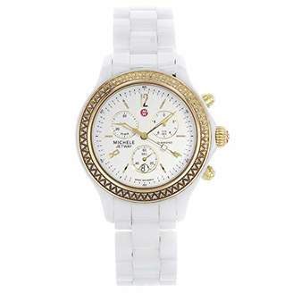 Michele Women's MWW17B000007 Jetway Diamond Bezel Watch