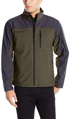 Free Country Men's Dobby Colorblock Soft-Shell Jacket