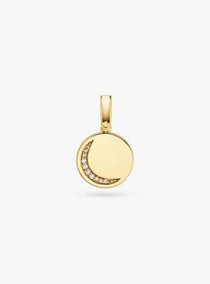 Michael Kors 14k Gold-Plated Sterling Silver Crescent Charm