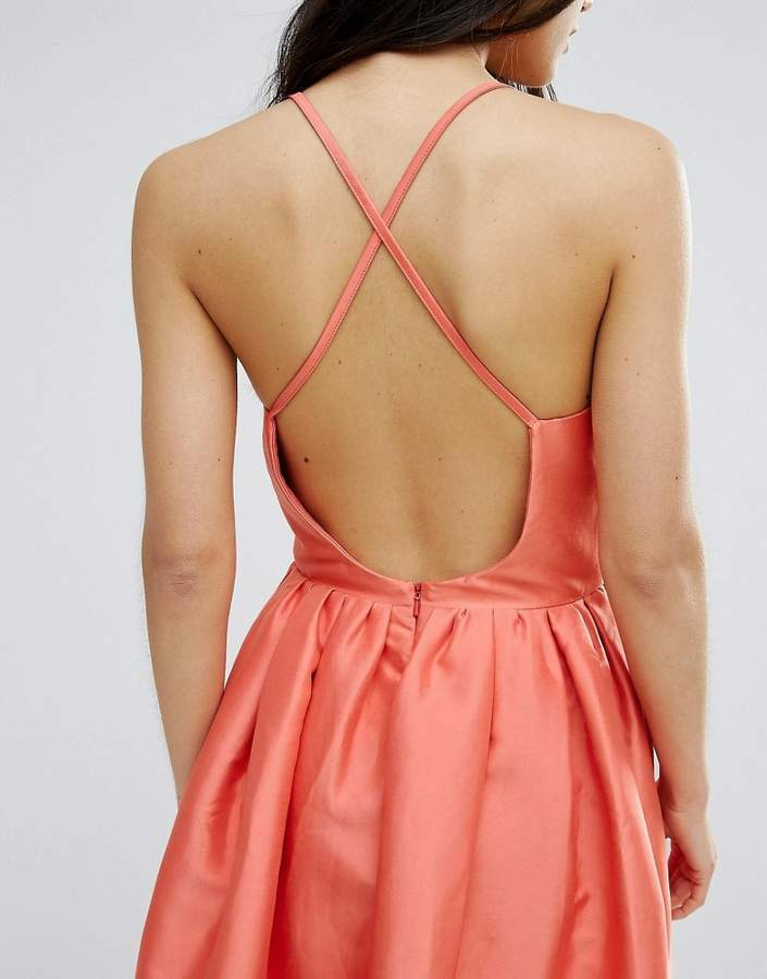 Girls On Film Fit And Flare Prom Dress