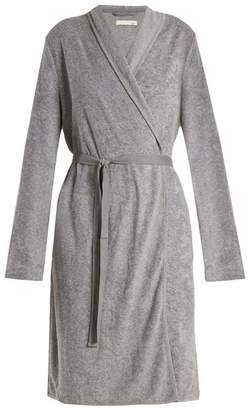 Skin - French Terry Towelling Robe - Womens - Grey