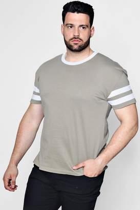 boohoo Big And Tall Contrast T-Shirt