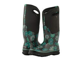 Bogs Classic Tall Winter Floral