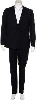Dolce & Gabbana Silk-Blend Dotted Suit
