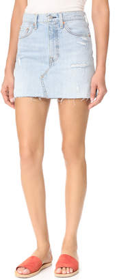 Levi's Deconstructed Skirt $69.50 thestylecure.com