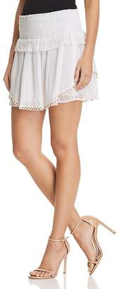 Ramy Brook Rosalie Smocked Skirt