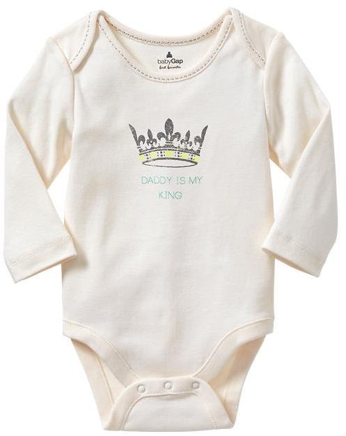 Gap Royal family graphic bodysuit