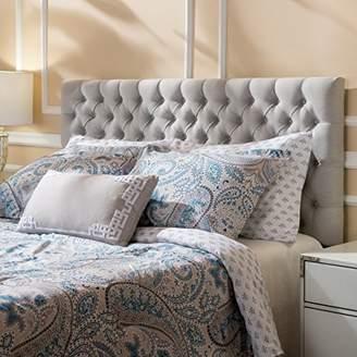 Christopher Knight Home Jezebel Light Grey Fabric Queen/Full Headboard