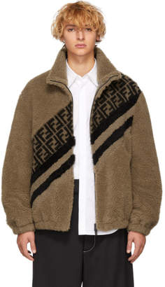 Fendi Tan Forever Jacket