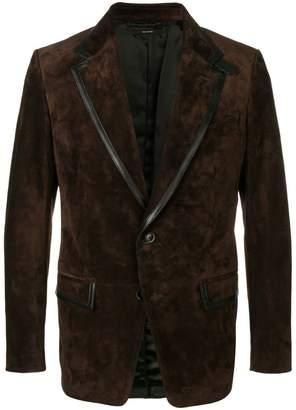 Tom Ford leather trim blazer