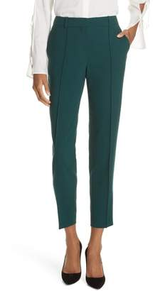 BOSS Tinufa Stretch Wool Slim Leg Trousers