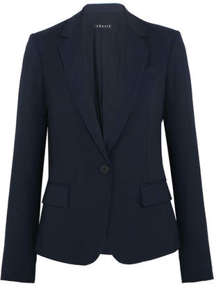 Theory - Gabe Stretch-wool Crepe Blazer - Midnight blue $425 thestylecure.com