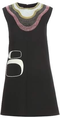 Giambattista Valli Embellished wool dress